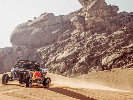 Cristina Gutierrez wins Stage One at Dakar