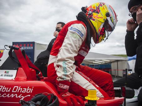 F4 Italy: Hamda Al Qubaisi focuses on car feedback after big testing accident
