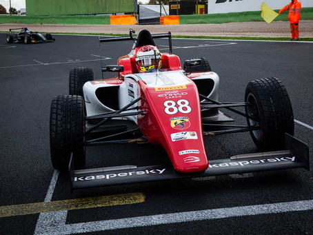 F4 Italy: Hamda Al Qubaisi finishes rookie campaign with P27 in red-flagged Vallelunga race 3