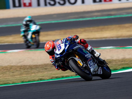 Maria Herrera gains places in WorldSSP races at Magny-Cours