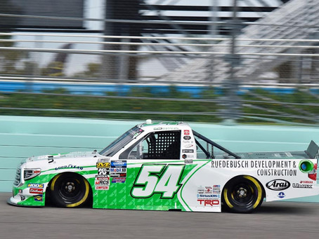 Natalie Decker adds another Top 20 to her 2019 NASCAR Truck Rookie season