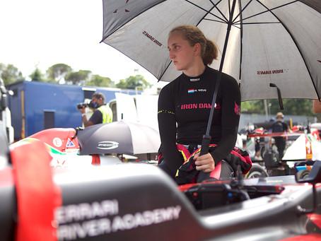 F4 Italy: Maya Weug and Hamda al Qubaisi battle for P14 in challenging Imola race 2