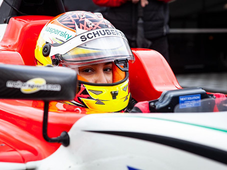 F4 UAE: 2021 starts with double podium for Hamda Al Qubaisi