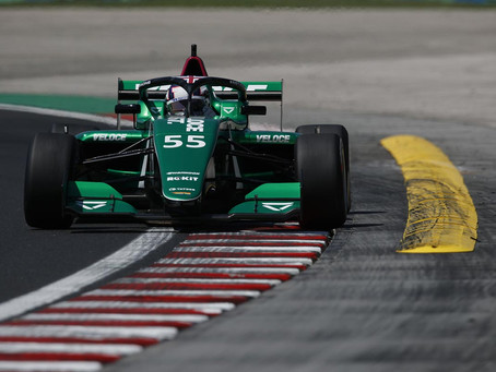 W Series: The fight is on with Chadwick leading Powell in Budapest qualifying
