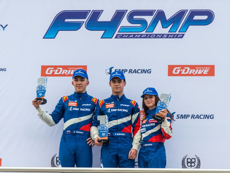 Irina Sidorkova scores second seasonal podium in SMP F4