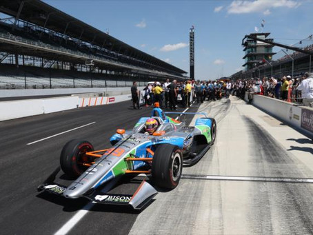 Pippa Mann secures Indy500 grid spot