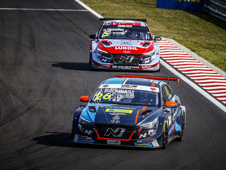 Difficult weekend for Jessica Bäckman in WTCR Hungary