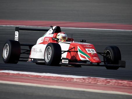 Unlucky weekend for Hamda Al Qubaisi in F4UAE round 3