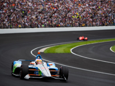Pippa Mann finishes Indy500 in P16
