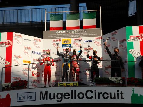 Italian GT: Francesca Linossi wins Mugello race 1, Schreiner recovers after first lap contact