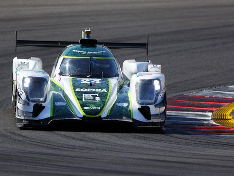 Sophia Floersch makes history as first woman on overall ELMS podium