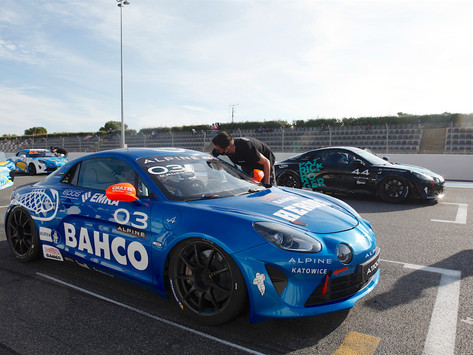 Lilou Wadoux recovers to P6, Gosia Rdest in the Top-10 in Alpine Europa Cup Race 1 At Paul Ricard