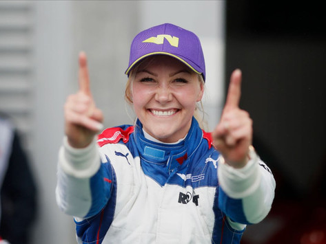 W Series: Emma Kimilainen takes epic victory in wet Spa