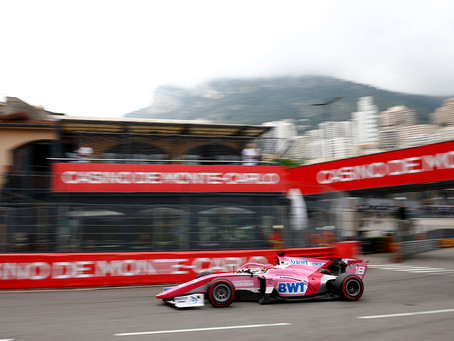 Calderon finishes P14 after hectic Monaco feature race