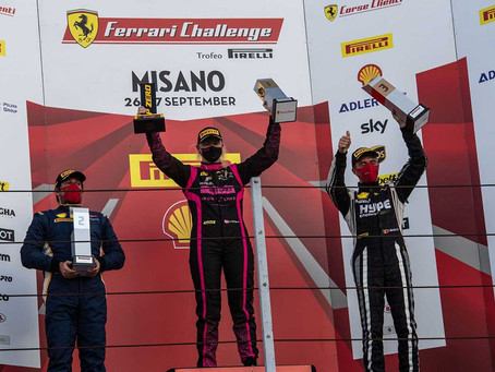 Michelle Gatting takes two poles, victory in Misano Ferrari Challenge