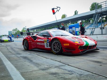 Italian GT: positive starts for Schreiner & Linossi in Monza qualifying