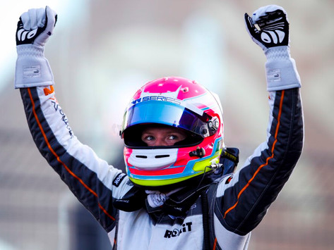 W Series: Alice Powell returns to victory at Zandvoort and re-claims championship lead