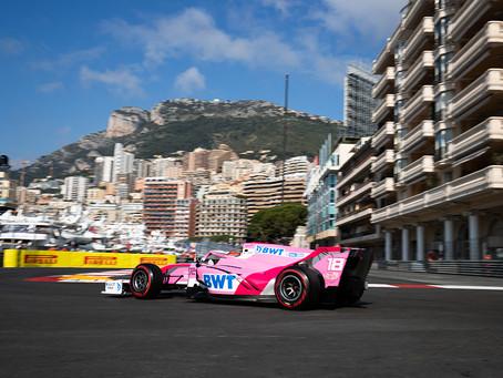 No luck for Calderon in Monaco race 2
