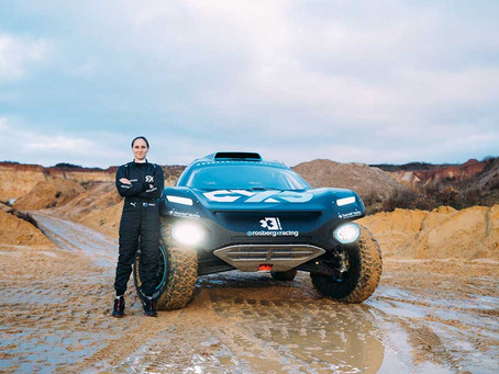 Molly Taylor joins Rosberg Xtreme Racing for Extreme E