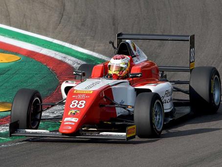 A Brilliant racing weekend for Hamda Al Qubaisi in Italian F4