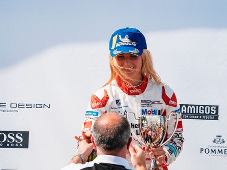 Hawkey claims maiden class victory in Porsche carrera Cup UK
