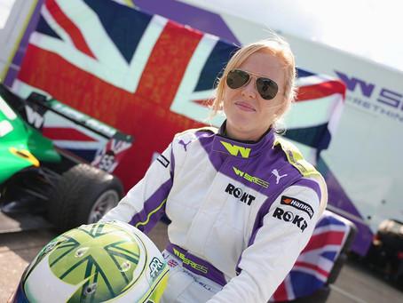 W Series: Alice Powell edges Jamie Chadwick in Silverstone FP1