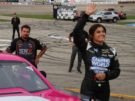 Hailie Deegan has best qualify in NASCAR Trucks, close to another top3 in SRX