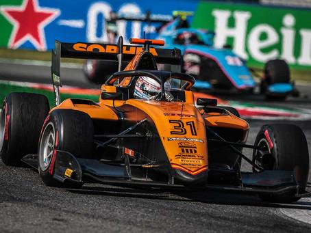 Best FIA F3 result of the season for Sophia Floersch  in Monza race 2