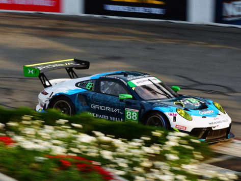 IMSA: Katherine Legge shines in Long Beach, charges to ninth in GTD