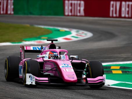 Tatiana Calderon out of Monza race 1