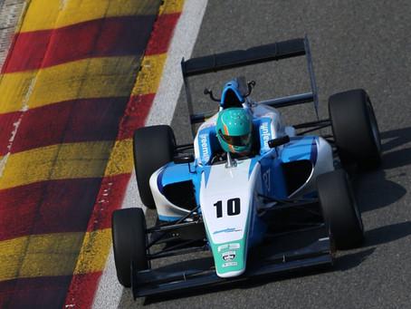 British F3: Reema Juffali denied first British F3 podium in Spa race 3
