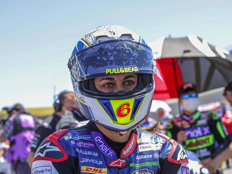 Maria Herrera starts Moto E season with top-10