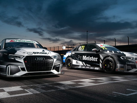 Jessica Bäckman makes STCC appearance at Anderstorp