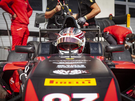F4 Italy: Maya Weug recovers 10 places in Austrian Race 2