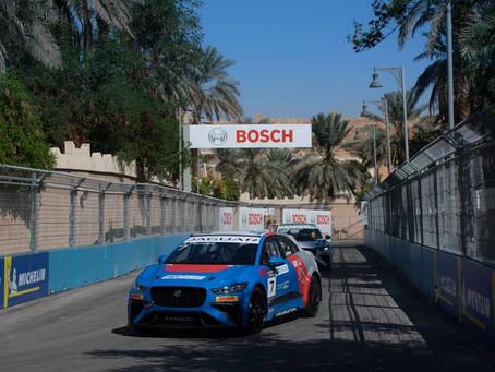 Alice Powell gets 3rd in Jaguar iPace opening race in Diriyah