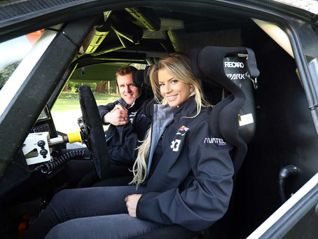 Christine Giampaoli Zonca is the new entrant's HISPANO SUIZA XITE ENERGY TEAM driver in ExtremE E