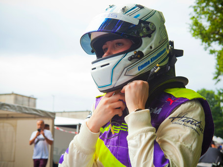 She's back: Emma Kimilainen returns in style at the Norisring