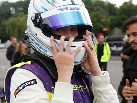 W-Series: Emma Kimilainen tops Saturday in Brands Hatch