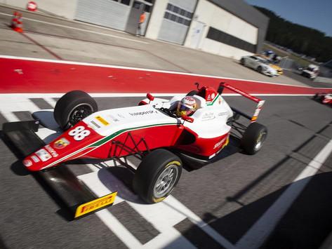 F4 Italy: Hamda Al Qubaisi back in the top20 in wet Race 3