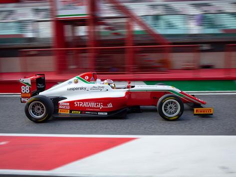 Italian F4: Hamda Al Qubaisi fights in the midfield, difficult round for Maya Weug
