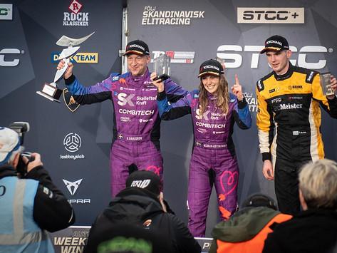STCC: Mikaela Åhlin-Kottulinsky returns to victory at Mantorp