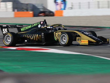 F.Regional: Jamie Chadwick P10 in Barcelona race 1