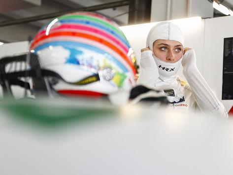 Hockenheim marks another step forward for Sophia Floersch ahead of DTM season finale