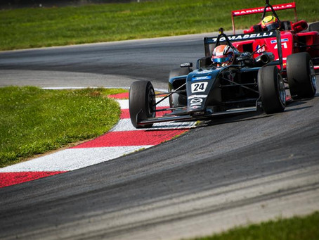 First top-5 result for Bruna Tomaselli at Mid-Ohio