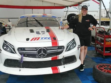 Fourth consecutive podium for Milla Mäkelä in Finnish V8 Thunder