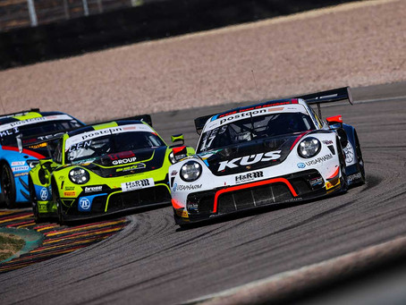 Competitive Weekend for the Ladies of ADAC GT Masters