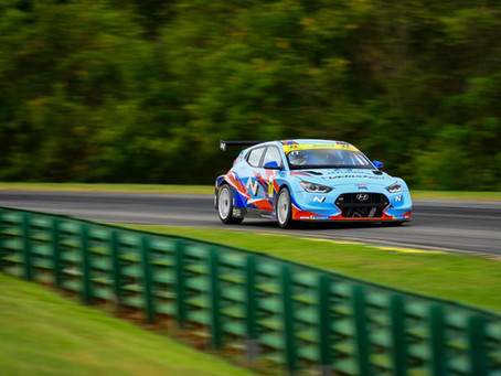 Top-5 for class leader Taylor Hagler, Monk in the Top-10 at VIR ahead of season finale