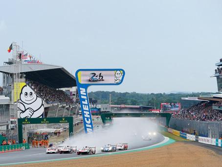 24H Le Mans, 4 Hours: Calderon & Gatting recover through crazy wet start