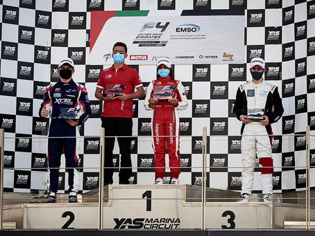 One more Victory for Hamda Al Qubaisi in F4 UAE