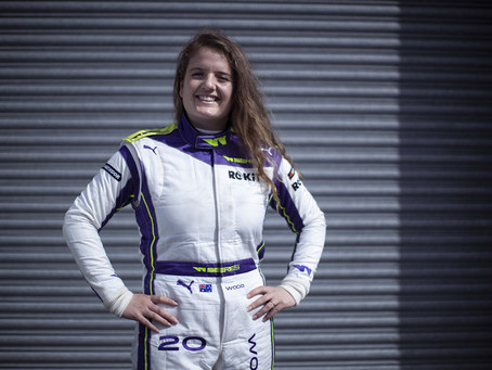 Back in the driving seat: Caitlin Wood returns to W Series for Budapest round